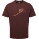 Mountain Equipment Yorik Tee Men Dark Chocolate